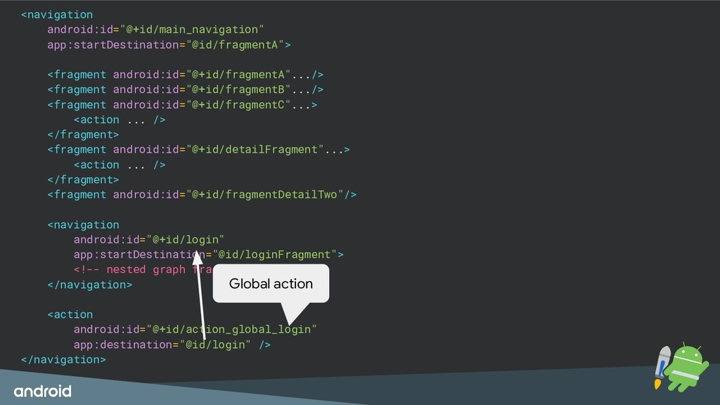 "<navigation android:id=""@+id/main_navigation"" a..."