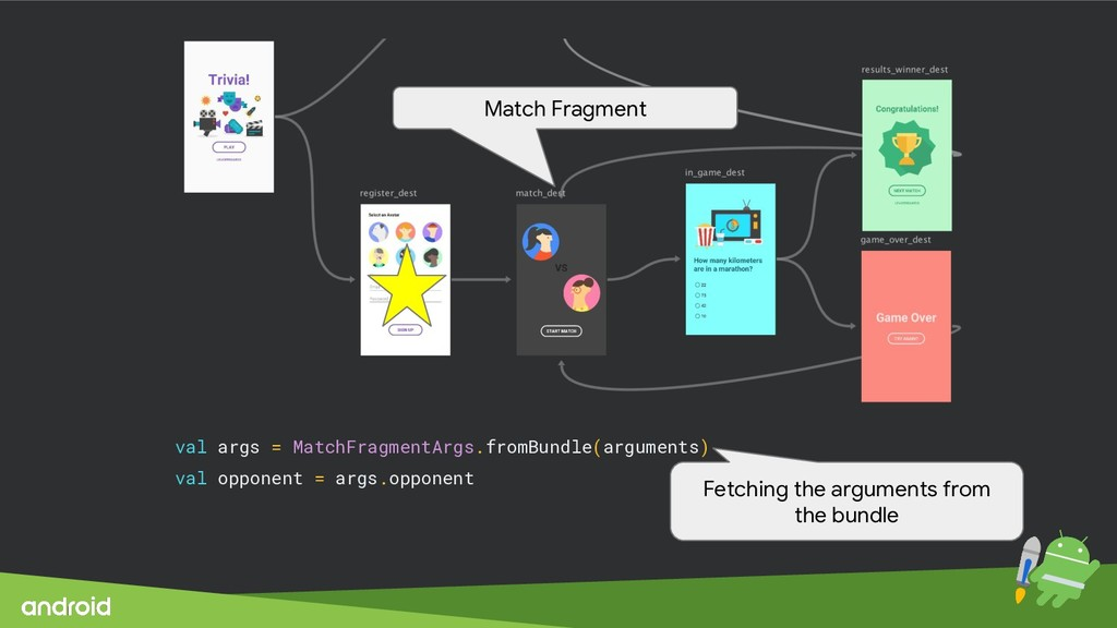 val args = MatchFragmentArgs.fromBundle(argumen...