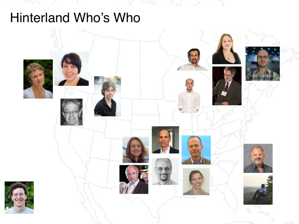 Hinterland Who's Who