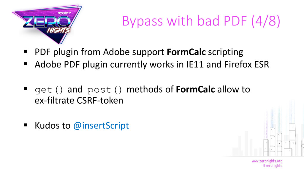  PDF plugin from Adobe support FormCalc script...