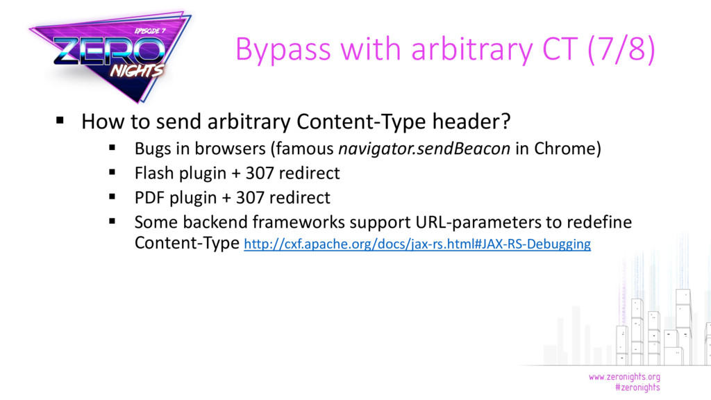  How to send arbitrary Content-Type header?  ...
