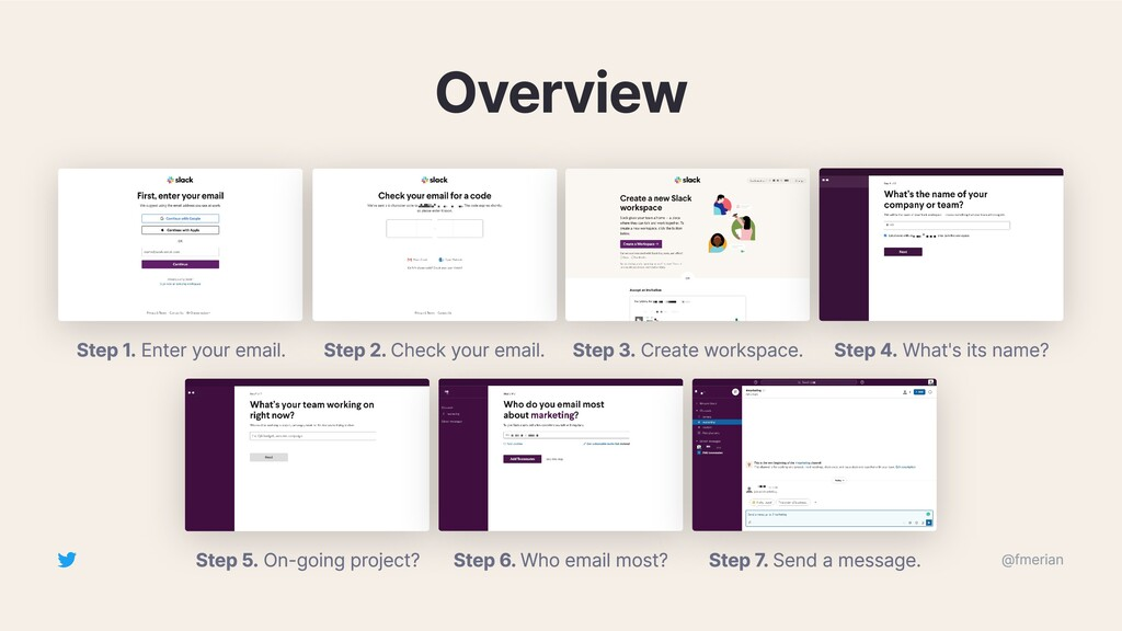Overview Step 1. Enter your email. Step 2. Chec...