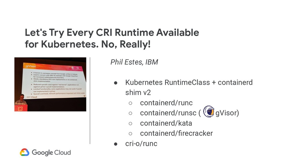 Let's Try Every CRI Runtime Available for Kuber...