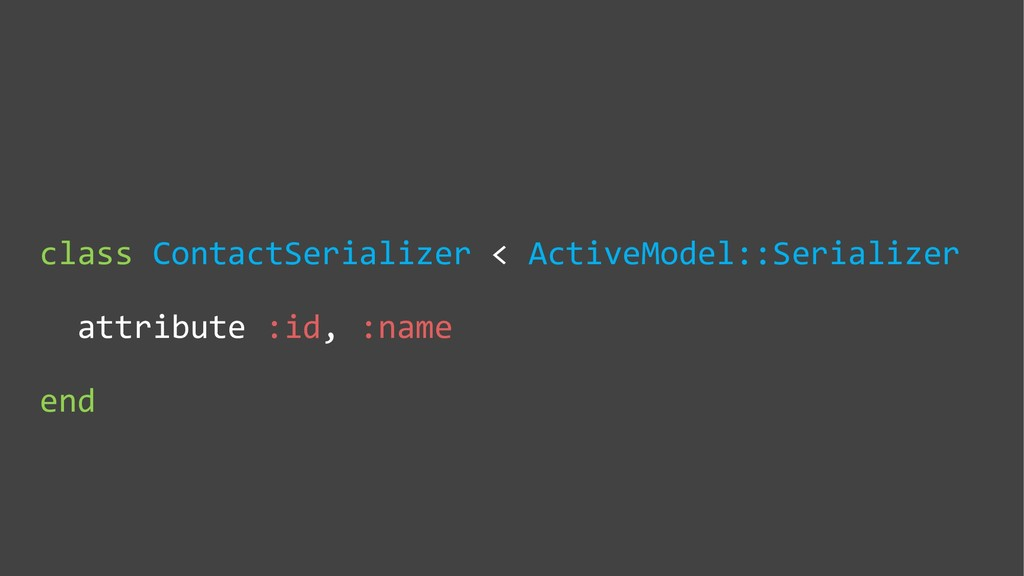 class ContactSerializer < ActiveModel::Serializ...