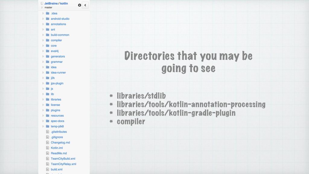 * libraries/stdlib * libraries/tools/kotlin-ann...