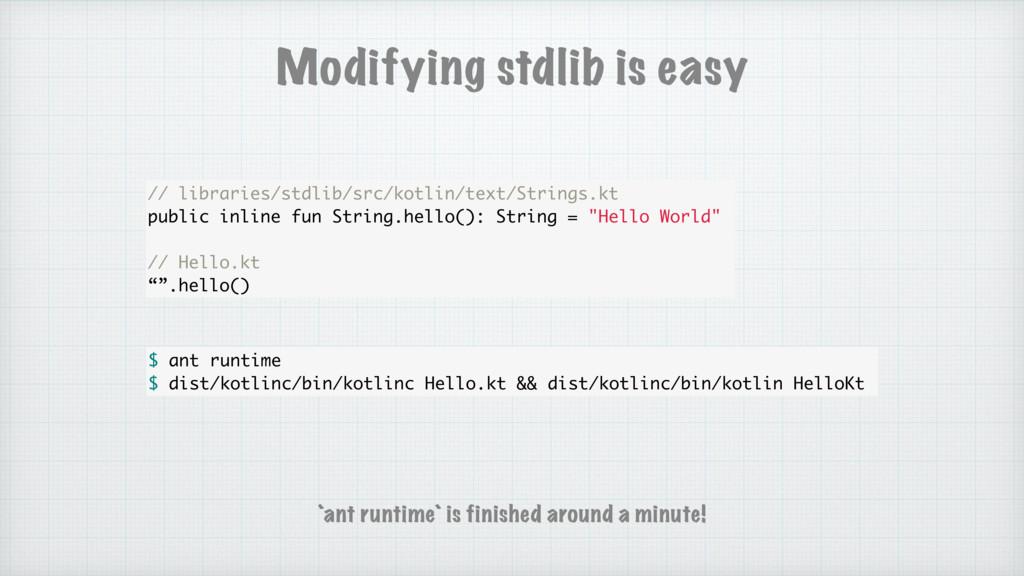 Modifying stdlib is easy // libraries/stdlib/sr...