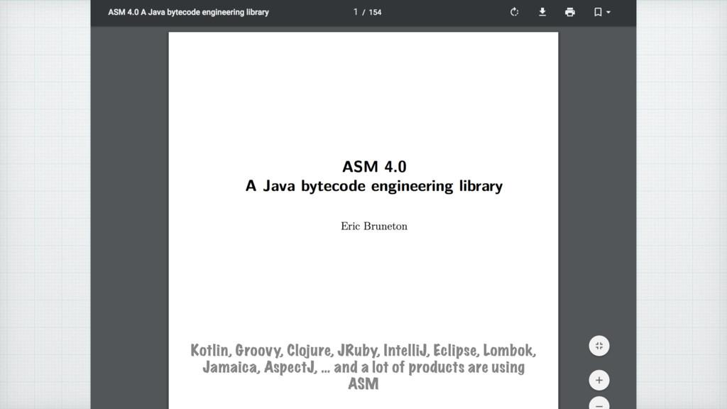 Kotlin, Groovy, Clojure, JRuby, IntelliJ, Eclip...