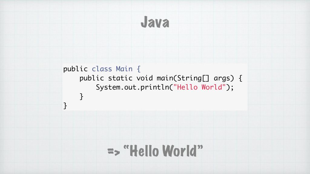 public class Main { public static void main(Str...