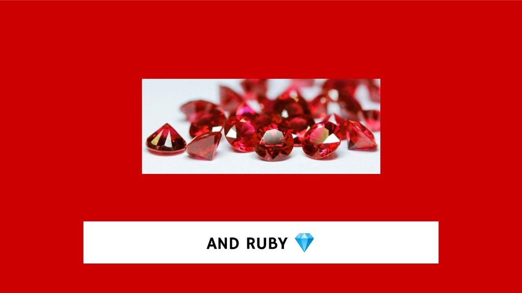 AND RUBY