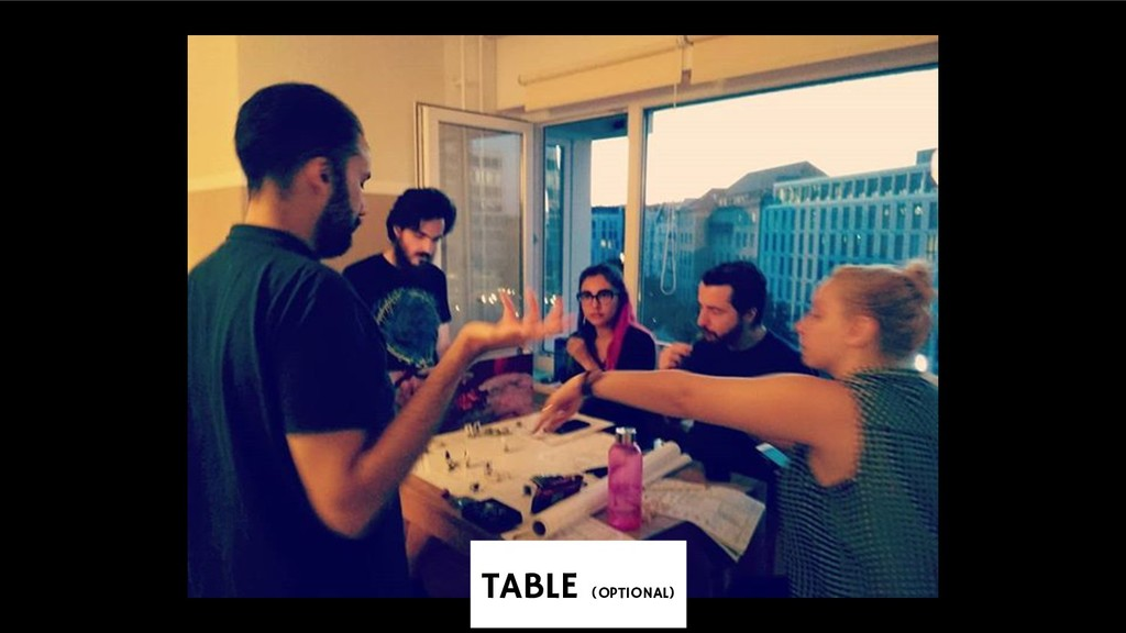 TABLE (OPTIONAL)