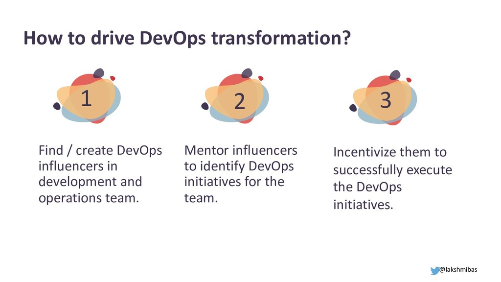 How to drive DevOps transformation? Find / crea...