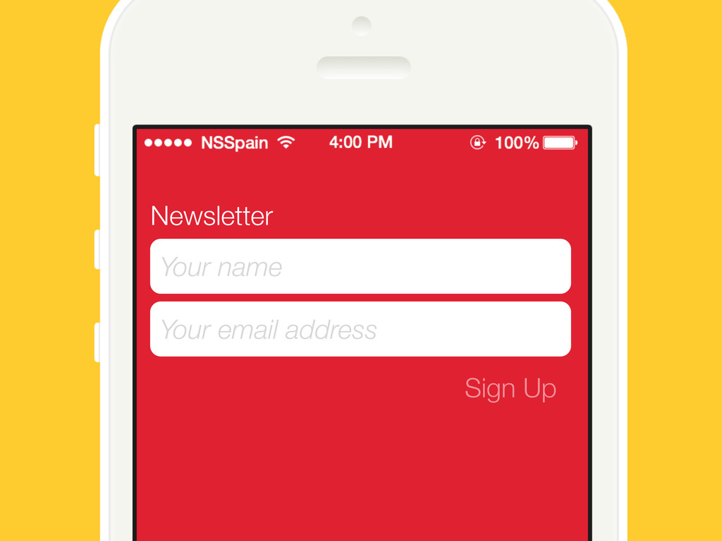 Newsletter Your name Your email address Sign Up