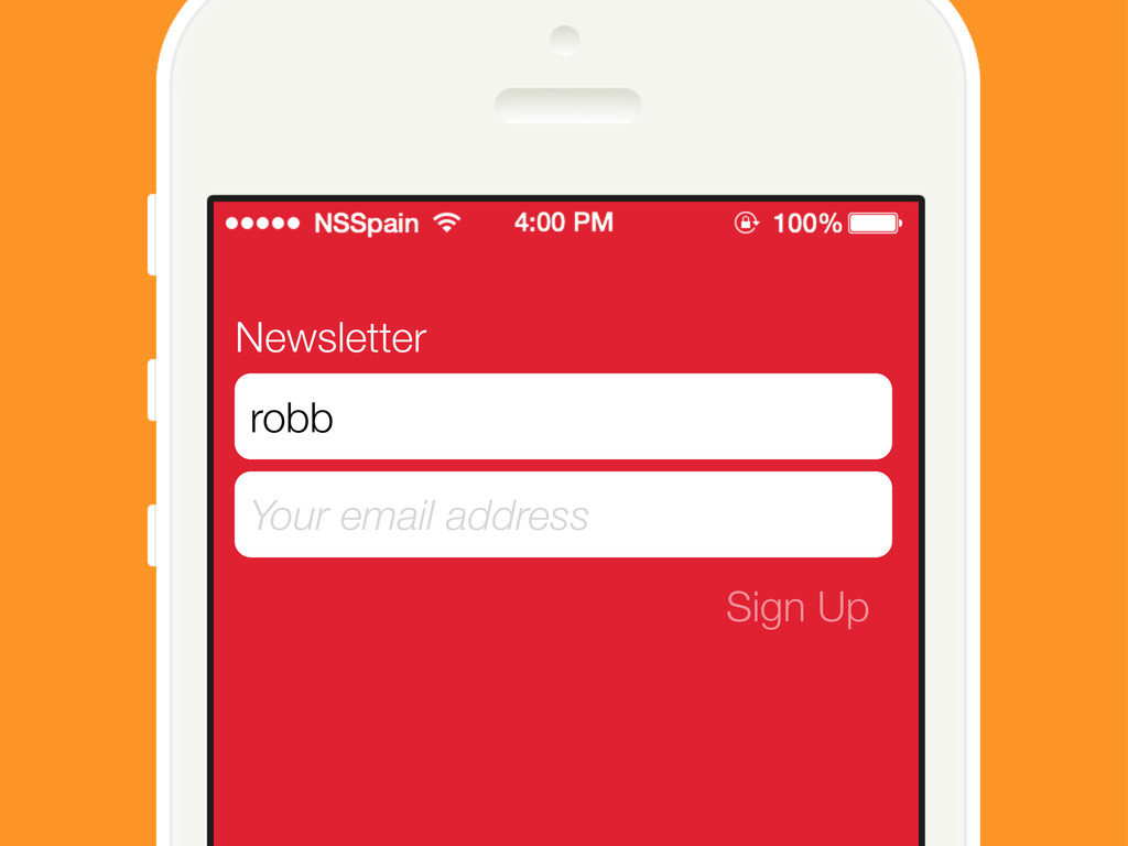 Newsletter Your email address Sign Up robb
