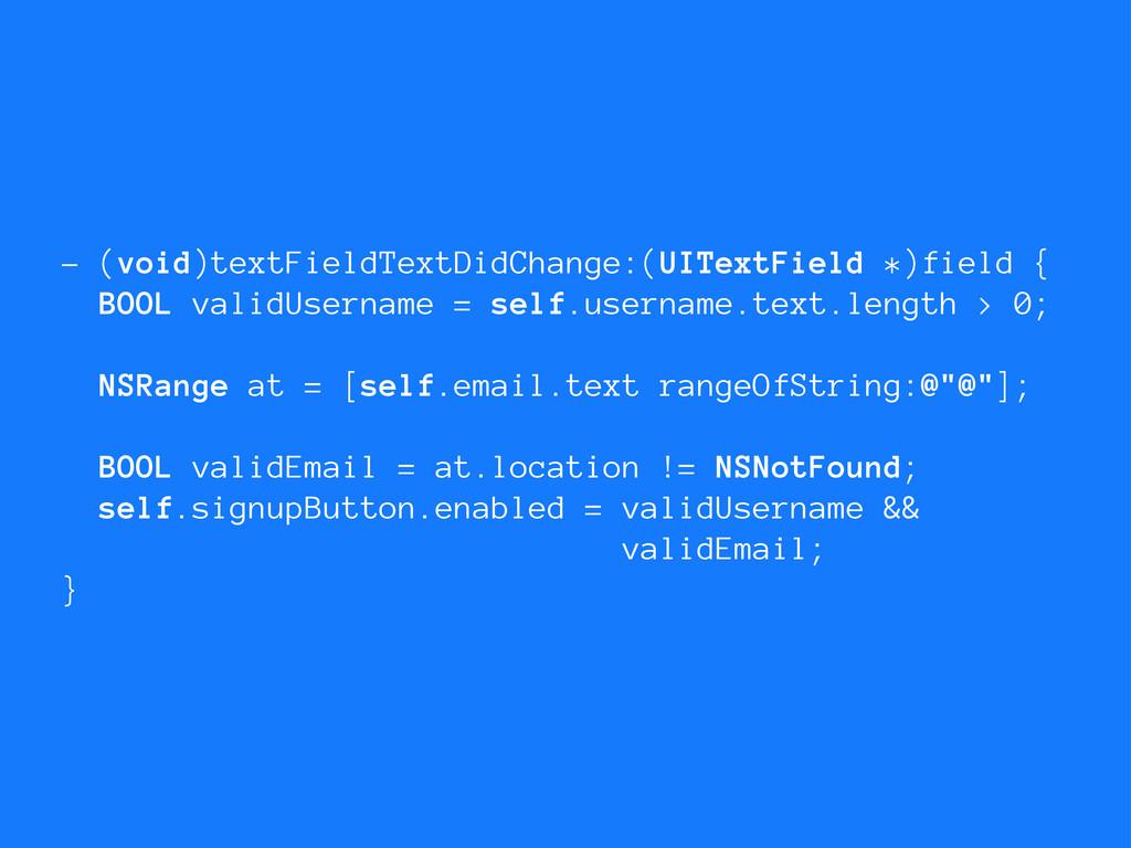 - (void)textFieldTextDidChange:(UITextField *)f...