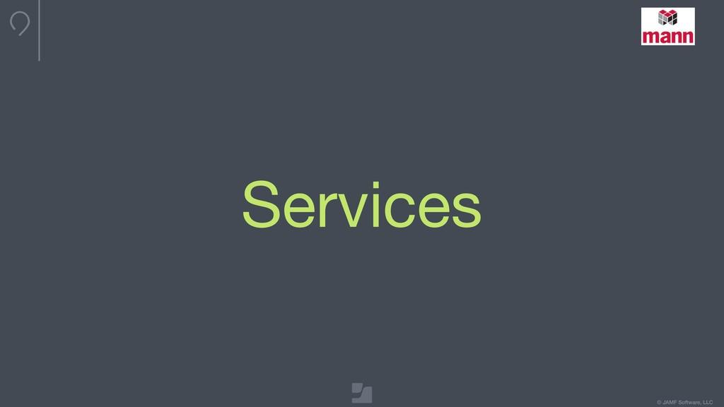 © JAMF Software, LLC Services