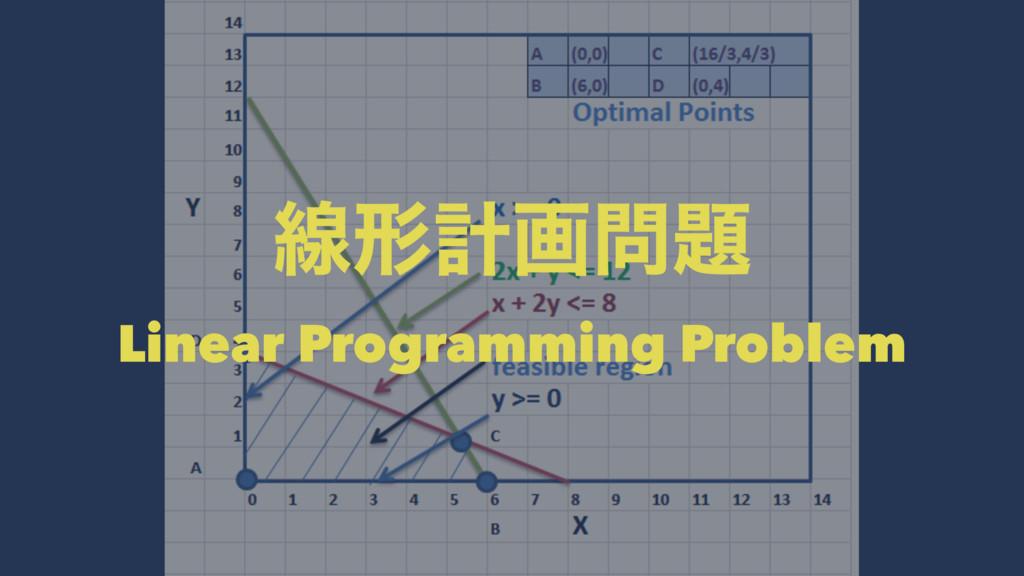ઢܗܭը Linear Programming Problem