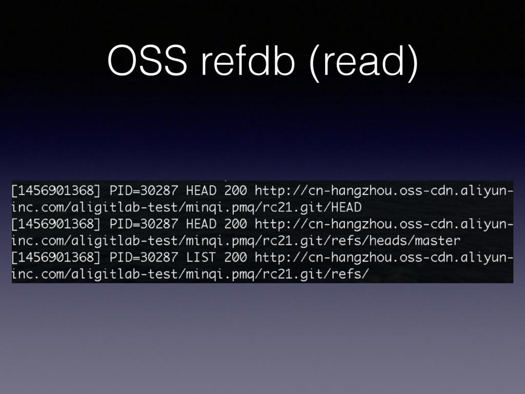 OSS refdb (read)