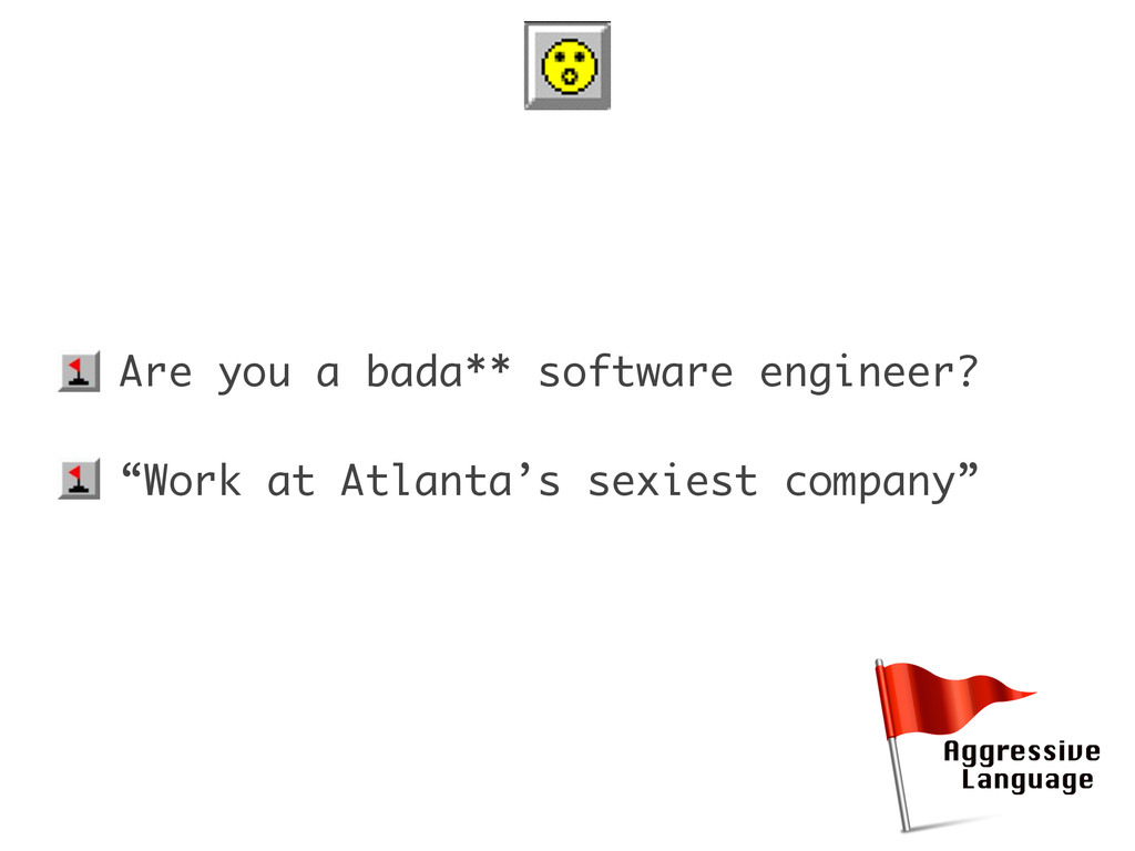 "• Are you a bada** software engineer? • ""Work a..."