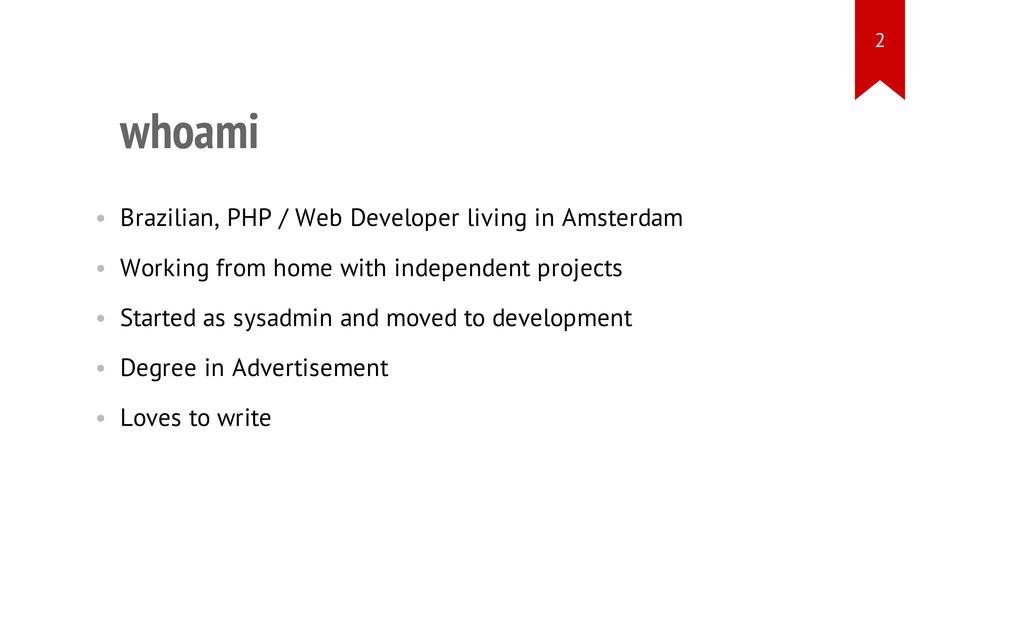 whoami • Brazilian, PHP / Web Developer living ...