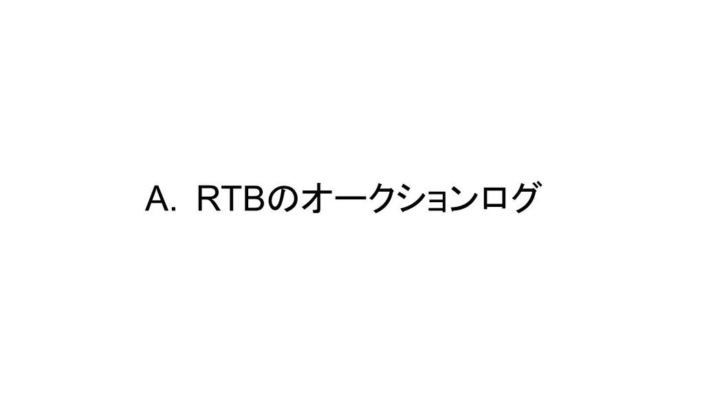 A. RTBのオークションログ