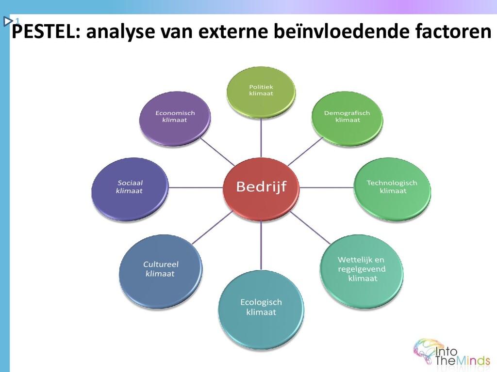PESTEL: analyse van externe beïnvloedende facto...