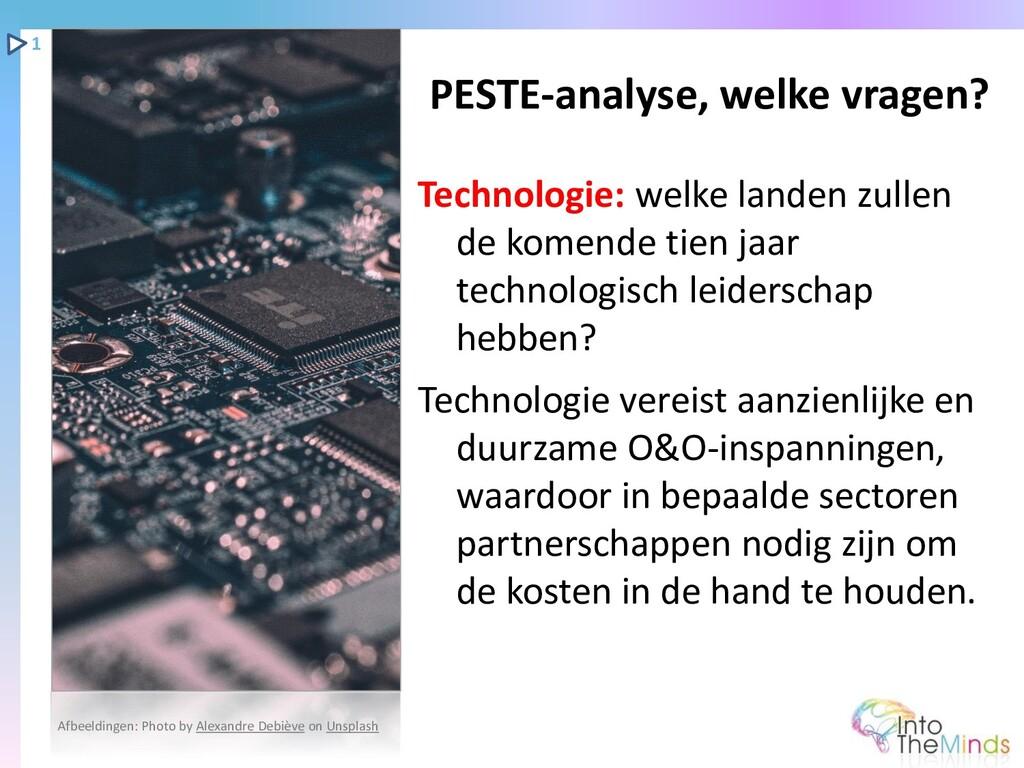Technologie: welke landen zullen de komende tie...