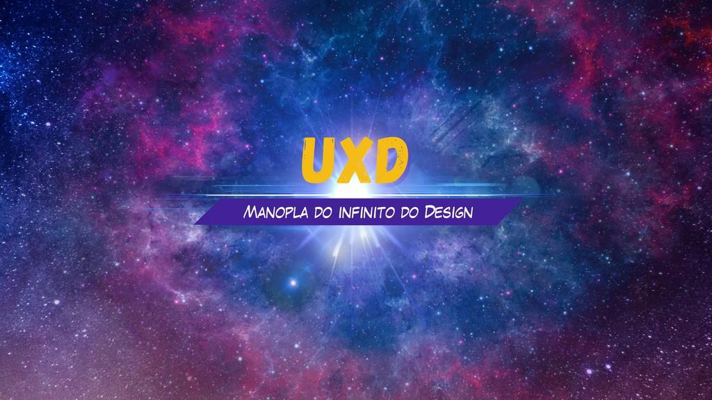 UXD UXD Manopla do infinito do Design