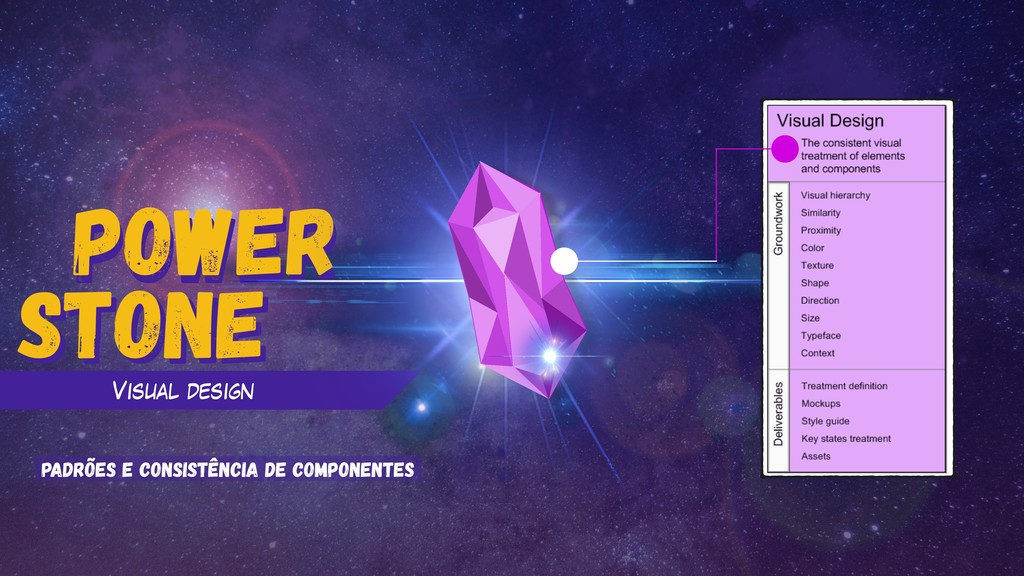 power Stone power Visual design Stone padrões e...