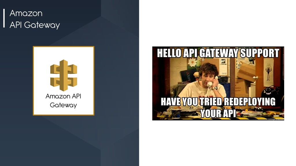Amazon API Gateway Amazon API Gateway