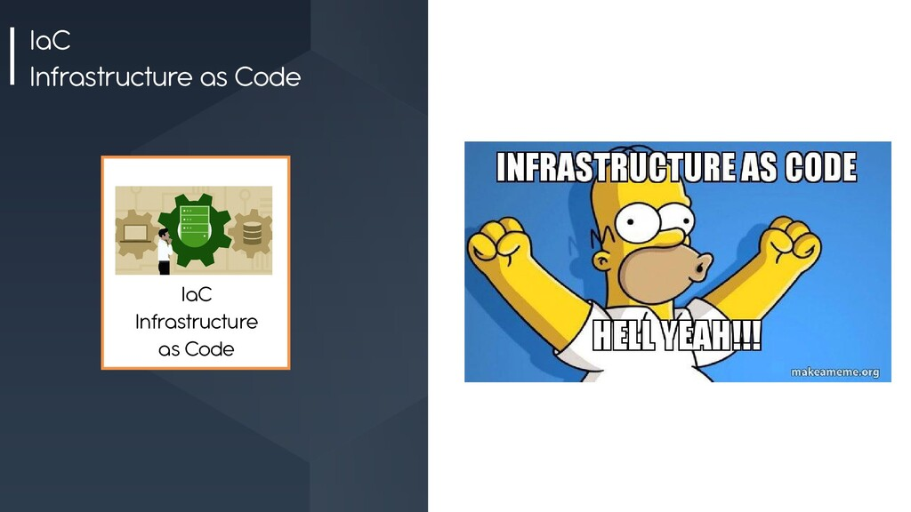 IaC Infrastructure as Code IaC Infrastructure a...
