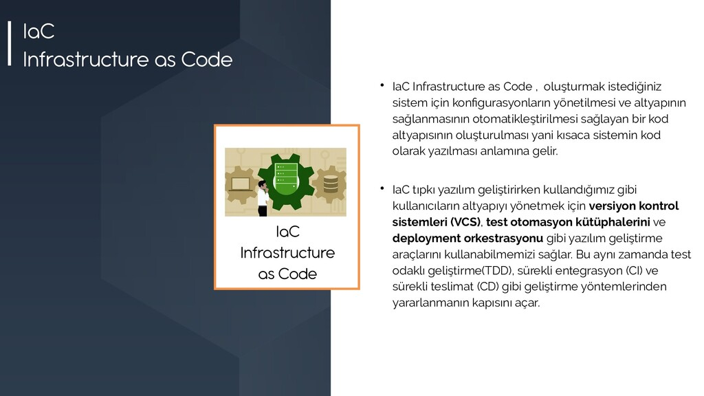 IaC Infrastructure as Code  IaC Infrastructure...