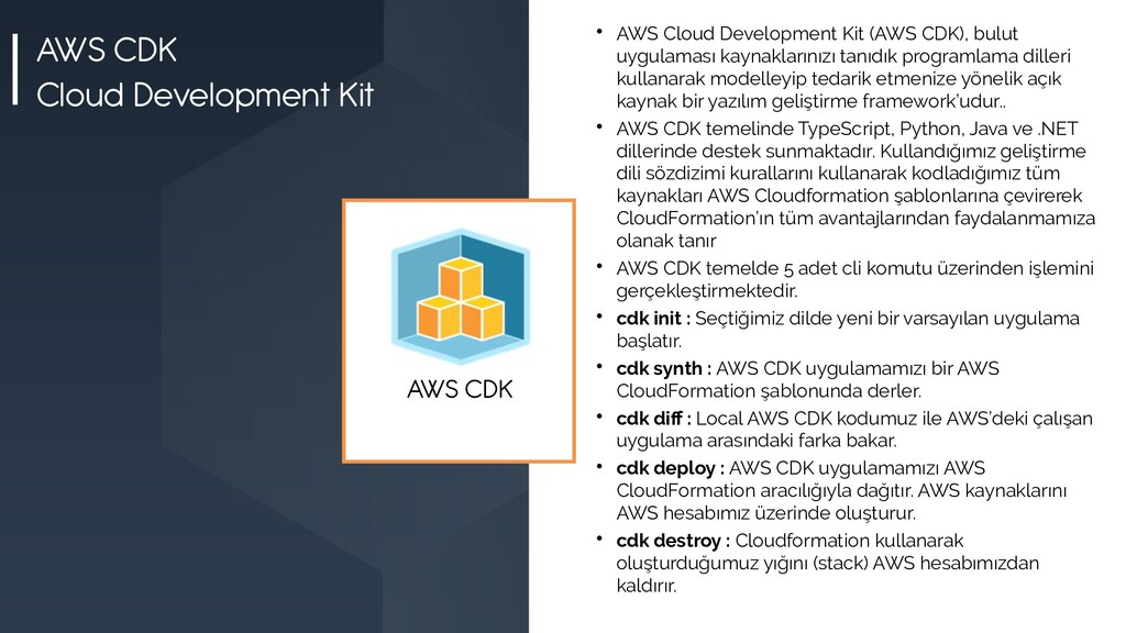 AWS CDK Cloud Development Kit  AWS Cloud Devel...