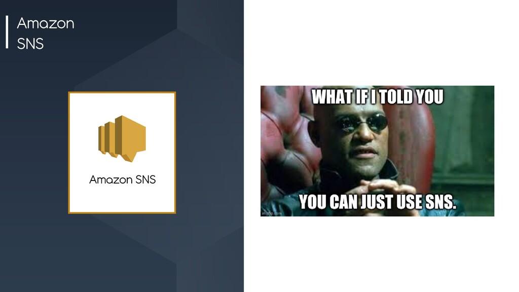 Amazon SNS Amazon SNS