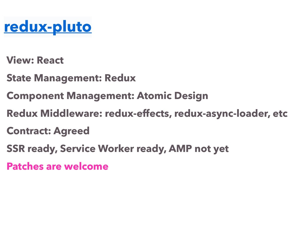redux-pluto View: React State Management: Redux...