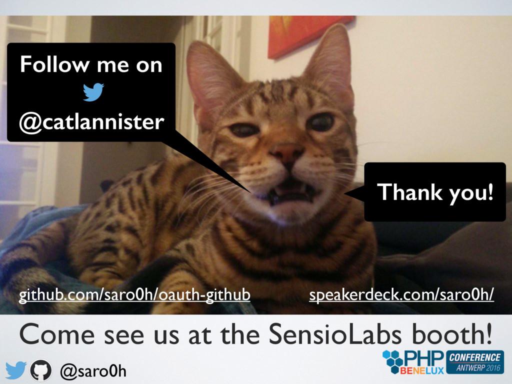 Thank you! @saro0h speakerdeck.com/saro0h/ gith...