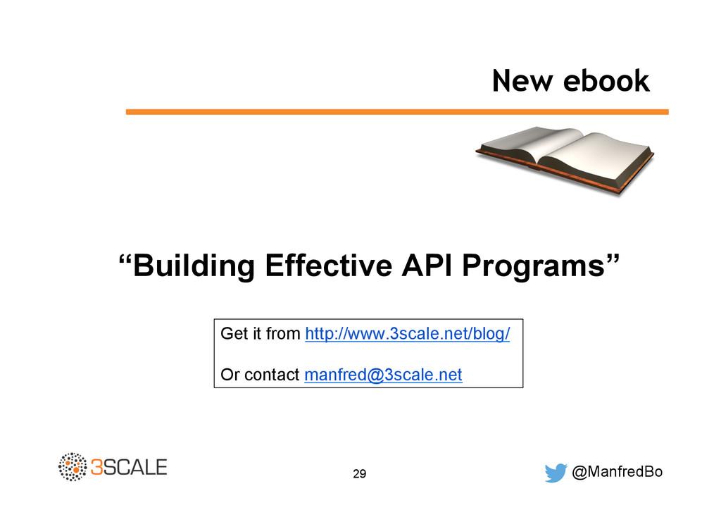 "@ManfredBo 29 New ebook ""Building Effective API..."