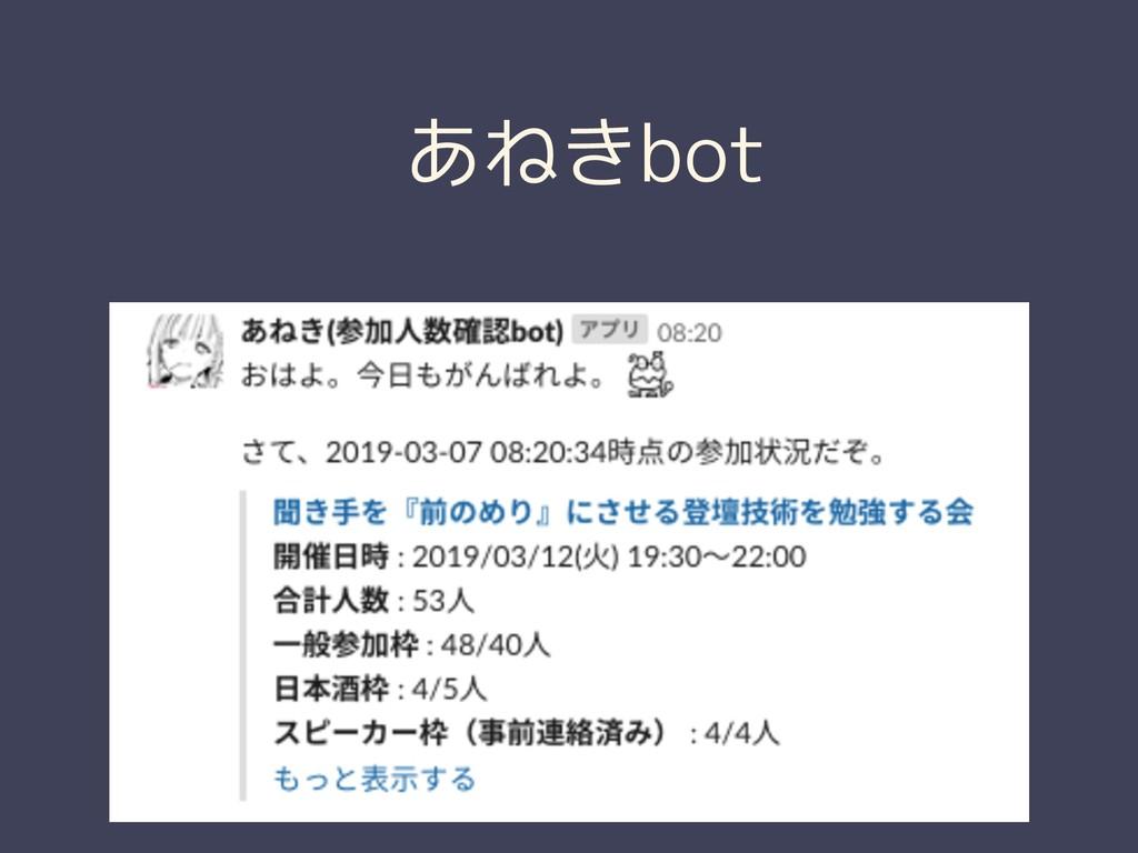 あねきbot