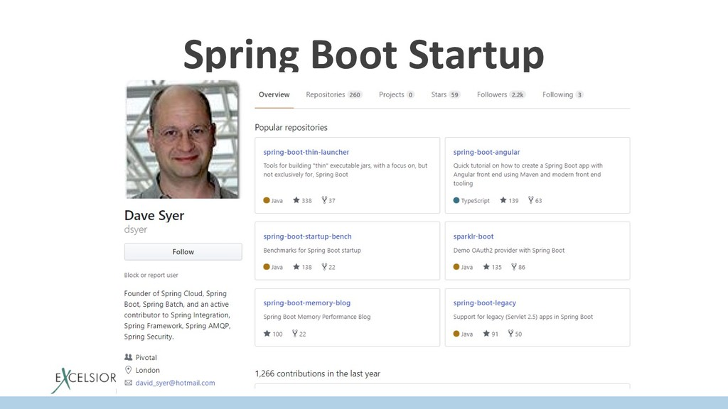 Spring Boot Startup