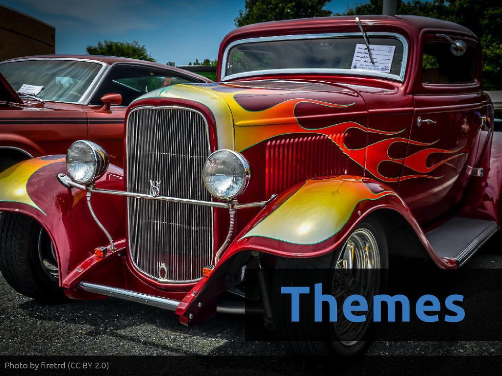 Themes Photo by firetrd (CC BY 2.0)