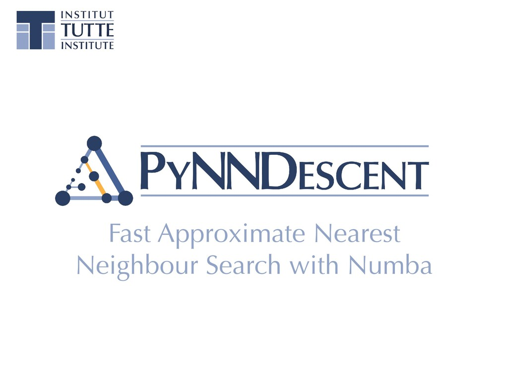 Fast Approximate Nearest Neighbour Search with ...