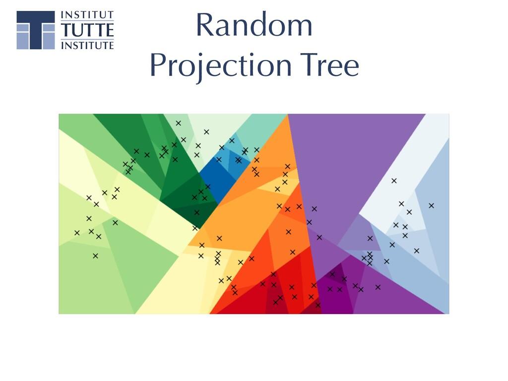 Random   Projection Tree