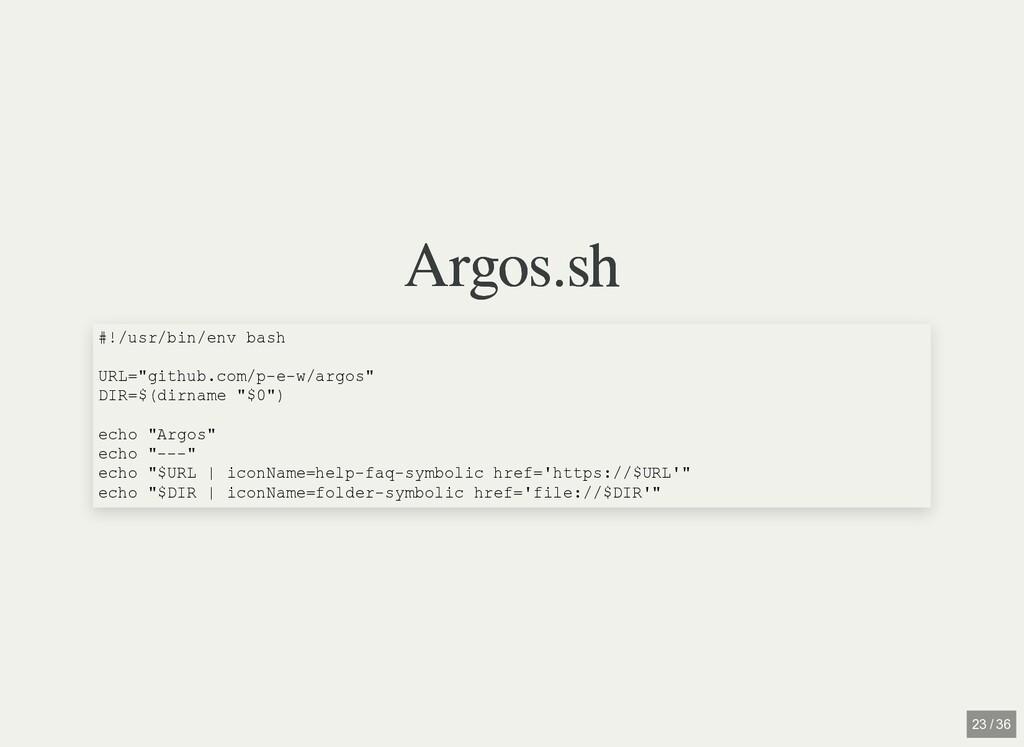 "/ Argos.sh Argos.sh #!/usr/bin/env bash URL=""gi..."