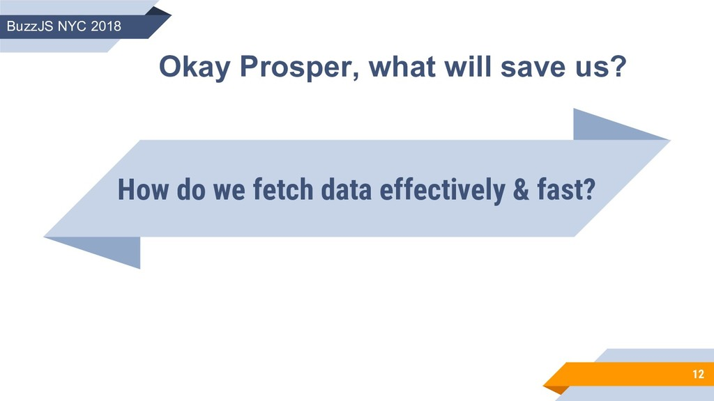 How do we fetch data effectively & fast? 12 Oka...