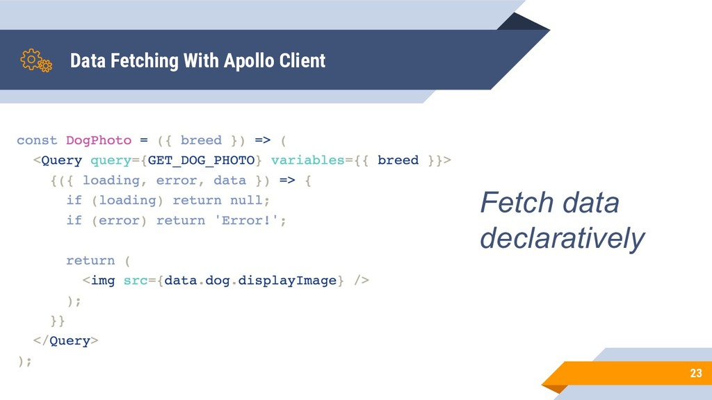 Data Fetching With Apollo Client 23 Fetch data ...