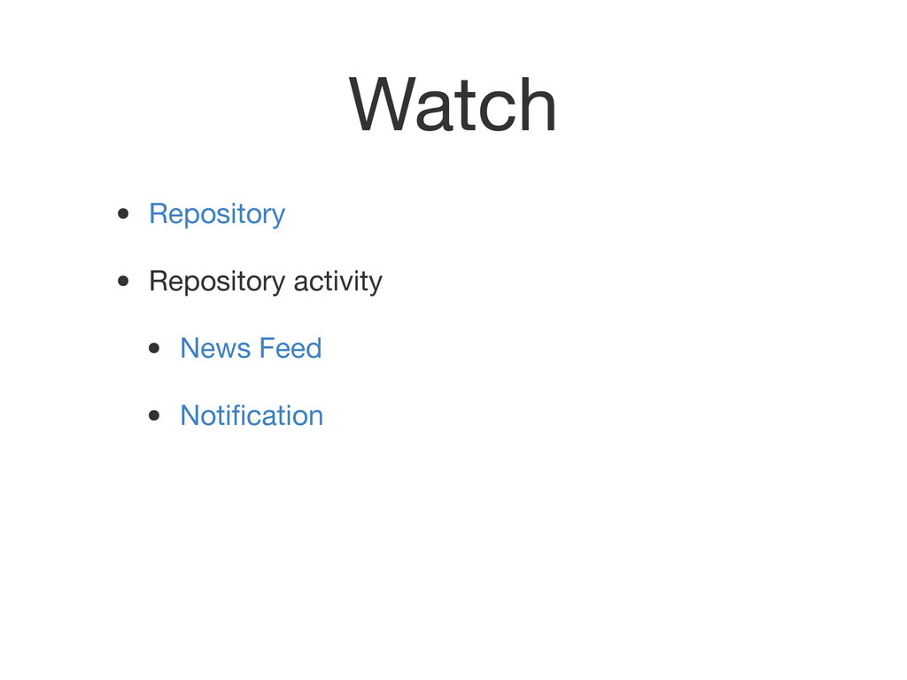 Watch • Repository • Repository activity • News...