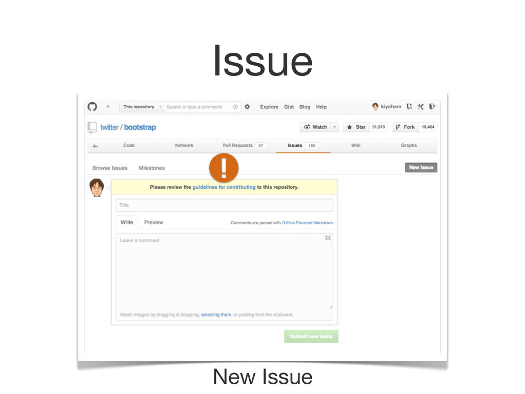 Issue New Issue