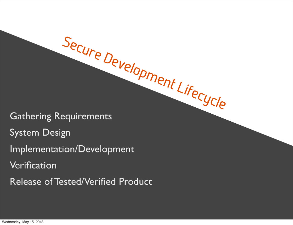 Secure Development Lifecycle Gathering Requirem...