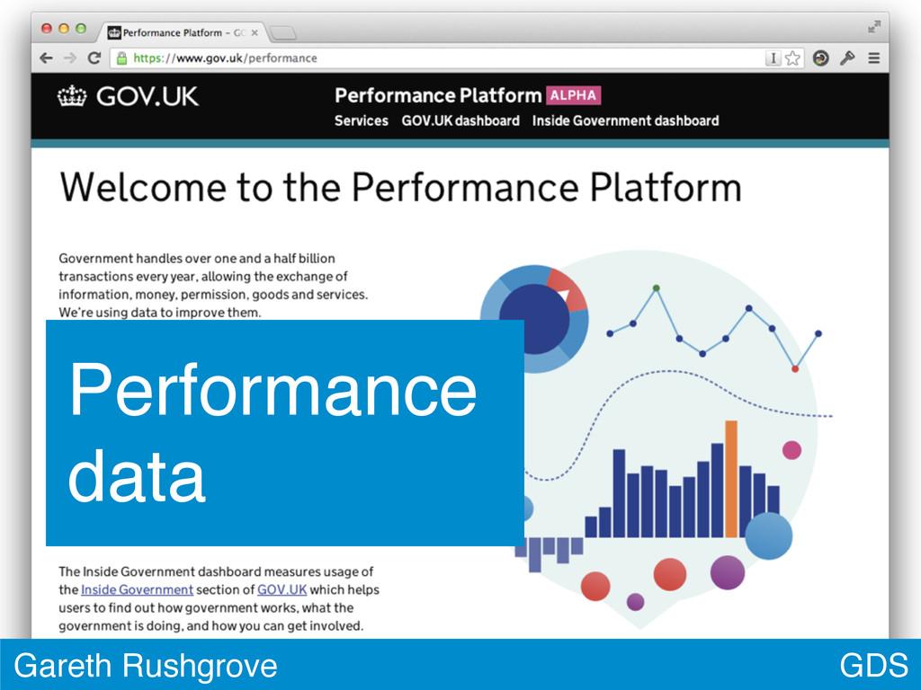 GDS Gareth Rushgrove Performance data