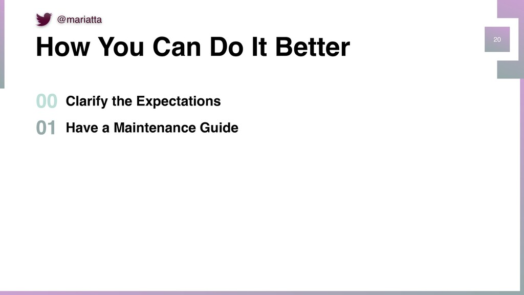 20 Have a Maintenance Guide 01 How You Can Do I...