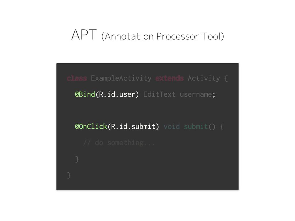 class ExampleActivity extends Activity { @Bind(...